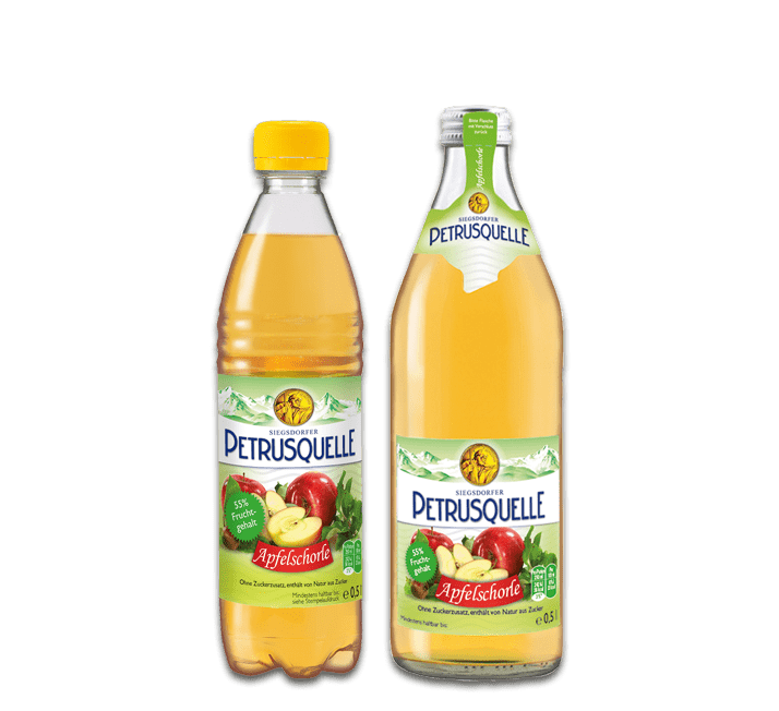 Siegsdorfer Petrusquelle Apfelschorle