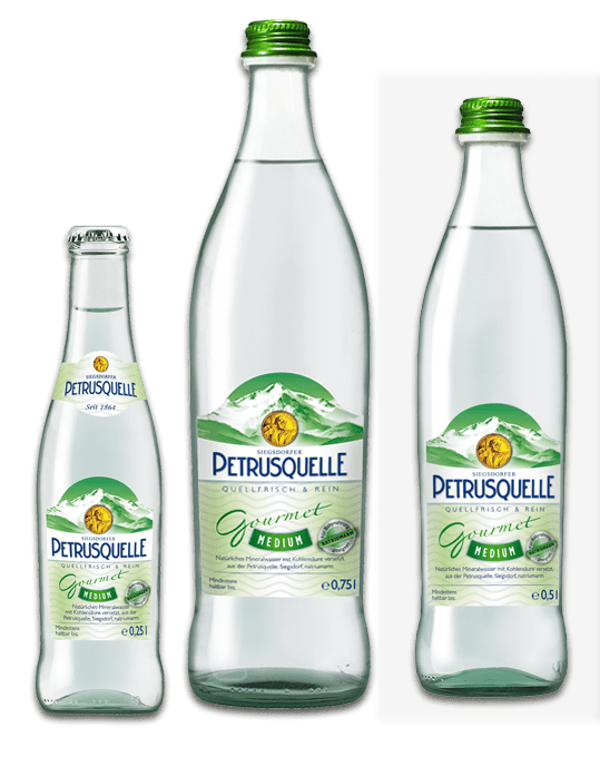 Siegsdorfer Petrusquelle Gourmet medium
