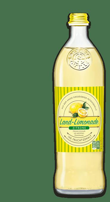 Siegsdorfer Petrusquelle Zitrone Land-Limonade