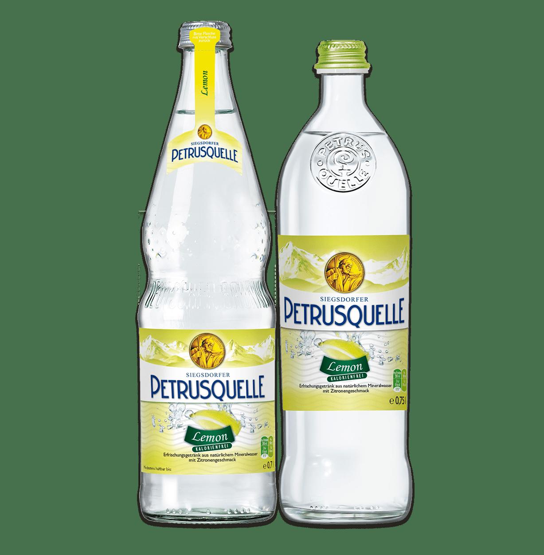 Siegsdorfer Petrusquelle Lemon ohne Zucker
