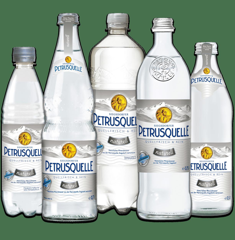 Siegsdorfer Petrusquelle Mineralwasser naturell