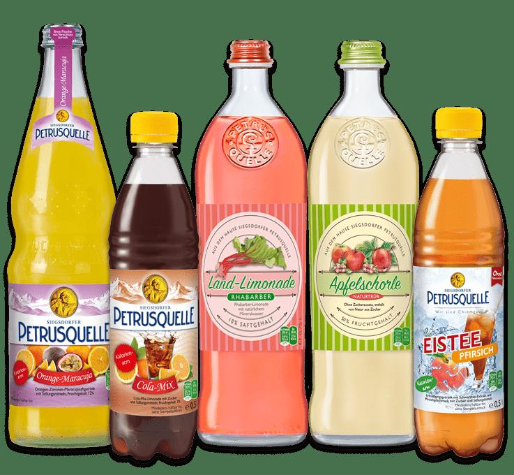 Siegsdorfer Petrusquelle Erfrischungsgetränke
