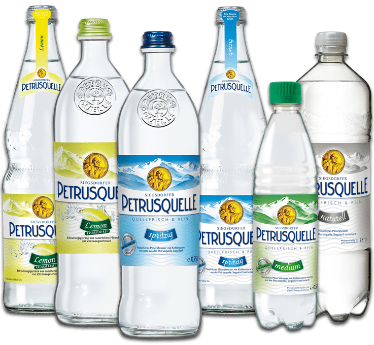 Mineralwasser Lemon Siegsdorfer Petrusquelle