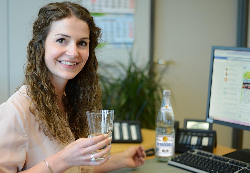 Mineralwasser fördert die Konzentration