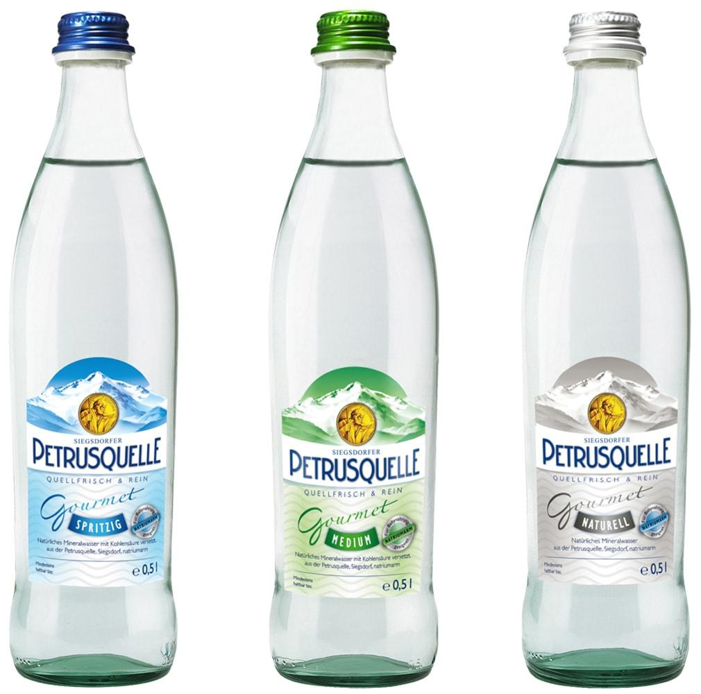 Siegsdorfer Petrusquelle Spritzig Medium Naturell